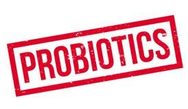 Probiotics rubber stämpel stock illustrationer