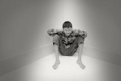 Problème adolescent photo stock