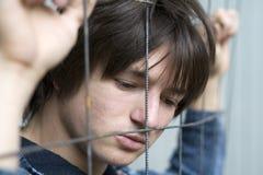 Problème d'années de l'adolescence Photo libre de droits