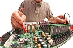 Problème d'ordinateur Image stock