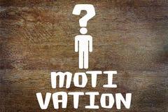 Problème de motivation humaine Image stock