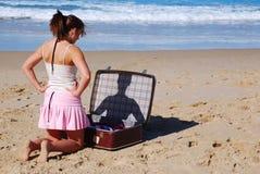 Problème de vacances Photo libre de droits