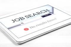 Problème du chômage et de recherche d'emploi photographie stock libre de droits