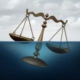 Problème juridique illustration stock
