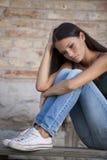 Problèmes d'adolescents Photo stock