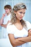 Problèmes de Coupleâs Image stock