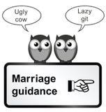 Problèmes de mariage Photographie stock libre de droits