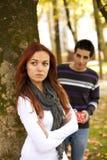 Problèmes de rapport de couples Photographie stock