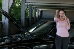 Problèmes de véhicule photographie stock libre de droits