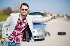 Problèmes de voiture Image stock