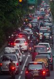 PROBLÈMES ENVIRONNEMENTAUX DE L'INDONÉSIE Photographie stock libre de droits
