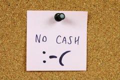 Problèmes financiers Photo stock