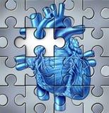 Problèmes humains de coeur illustration de vecteur