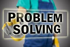 Probleem het oplossen Stock Afbeeldingen