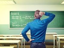 Probleem op school Stock Afbeeldingen
