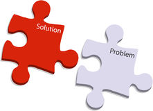 Free Problem And Solution Puzzle Royalty Free Stock Image - 12163086