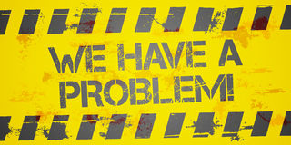 Problem Background Royalty Free Stock Photography