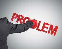 Problem Royalty Free Stock Image