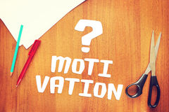 Problem der Motivation zur Aktion Stockbild