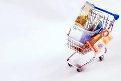 Problem ekonomiczny od kryzysu Obraz Stock