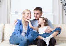 Problem-free семья Стоковые Фотографии RF
