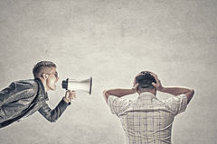 Problem of generation conflict Royalty Free Stock Images