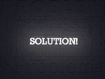 Problem Idea Solution Stock Photos