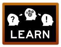 Problem lernen denken Lösung lizenzfreie abbildung