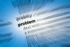 Problem Royalty Free Stock Photo