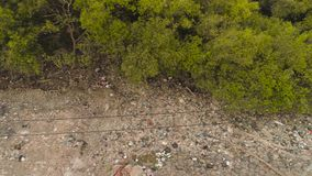 Problem med avskr?de i asia java, indonesia stock video