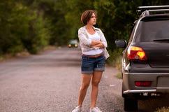 Problem mit Auto Stockfoto