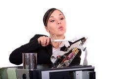 Problem mit dem Computer Lizenzfreie Stockfotografie
