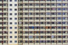 Multi-storey building. The city`s buildings. Stock Photography