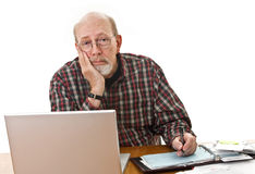 Problem Paying Bills Stock Photography