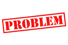 PROBLEM Royalty Free Stock Image