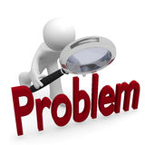 Problem search Royalty Free Stock Images