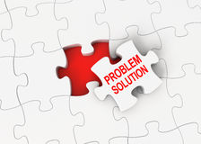 Problem solution Stock Image