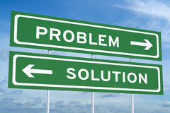 Problem or solution concept Stock Photo