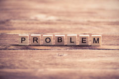 Problem solution concept Royalty Free Stock Photo