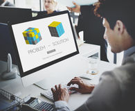 Problem Solution Strategy Trouble Difficulty Ideas Concept Royalty Free Stock Photo
