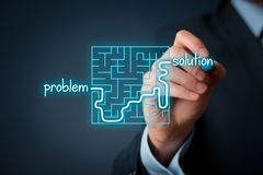 Problem solution Royalty Free Stock Photography