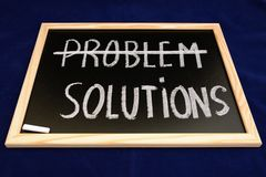 Problem solutions Stock Photos