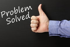 Problem Solved Royalty Free Stock Photography