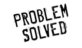 Problem Solved rubber stamp Royalty Free Stock Photography
