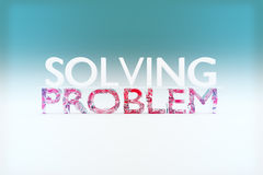 Problem solving concept Stock Image