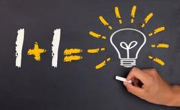 Problem solving concept: teamwork stock illustration