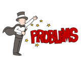 Problem Solving Magician Stock Photography