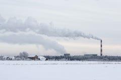Problem zanieczyszczenie powietrza Fotografia Royalty Free
