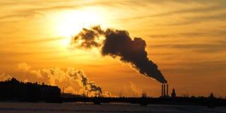problem związany z ochroną środowiska Fotografia Royalty Free