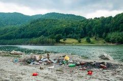 Problem związany z ochroną środowiska i natury zanieczyszczenie Zdjęcia Stock